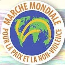 Marche Mondiale, Journée Internationale de la Non violence, Trocadéro, Torche, Marche