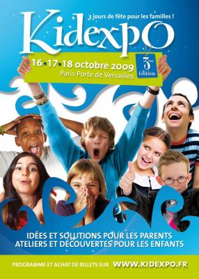 Kidexpo, Salon, Paris, Enfants, Famille, Porte de Versailles