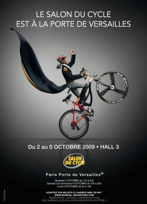 Salon du Cycle de Paris 2009, Porte de Versailles, Paris, 2 roues