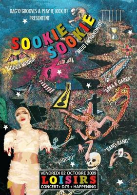 Sookie Sookie Party, Soirée, OPA, Clubbing, Paris