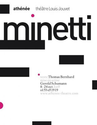 Minetti, Théâtre, Paris, Spectacle, Thomas Bernhard, Gerold Schumann, Athénée