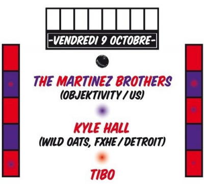 Martinez Brothers, Kyle hall, Tibo, Social Club, Soirée, Paris , Clubbing