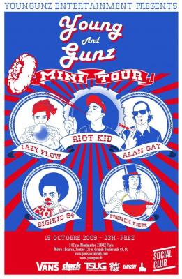 Young Gunz, Release Party, Riot Kid, Soirée, Paris, Social Club, Clubbing