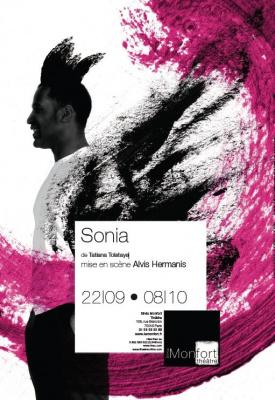 Sonia, Spectacle, Paris, Théâtre, Silvia Montfort
