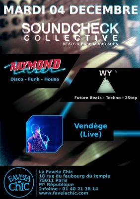 Rentez-Vous/Vendège/SOUNDCHECK Collective
