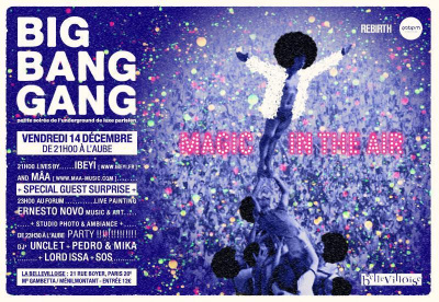 "Big Bang Gang party…..""Let's get back in the magic """