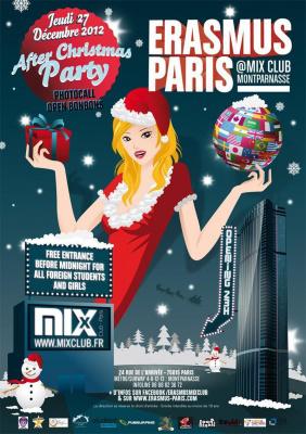 Erasmus Paris : After Christmas Party