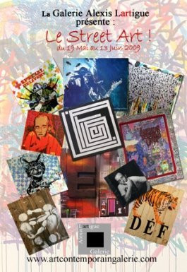 street art, exposition, vernissage, alexis lartigue, galerie, paris