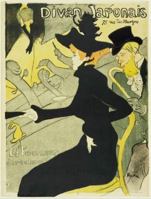divan japonais, paris, toulouse layrec, exposition, affiche
