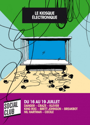 soirée, paris, social club, Paris Quartier d'été, le Kiosque électronique