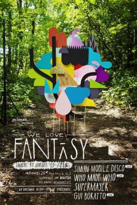 We love fantaisy, We love art, We love, Chesnaie du Roy, Vincennes, Soirée, Paris
