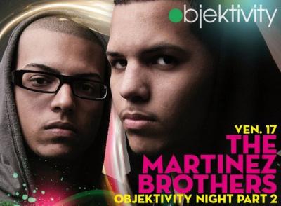 Martinez Brothers, Objektivity, Djoon, Paris, Club