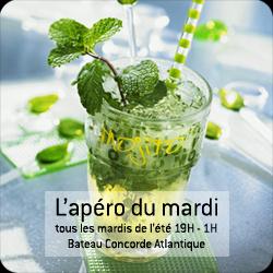 Apéro du mardi, Concorde Atlantique, Paris, Soirée, Happy Hour