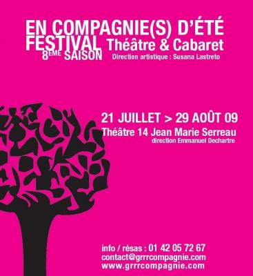 En compagnie(s) d'été, GRRR, Paris, Festival, Théâtre, Spectacle