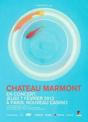 Chateau Marmont en concert à Paris.