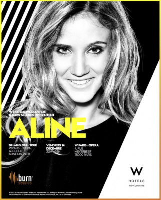 ALINE MAGNIER // DJ Lab Global Tour