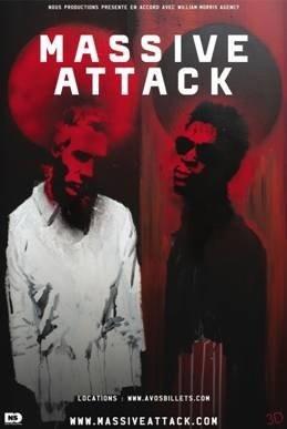 Massive Attack, Paris, Zénith, Concert, Weather Underground, 3D, Daddy G, Mushroom, Tricky