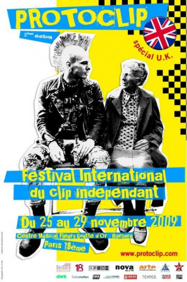 Festival International du Clip, Protoclip, Clip, Centre Musical Fleury Goutte d'Or, Paris