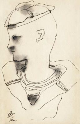 Cocteau Intime, Exposition, Paris, Louvre des Antiquaires, Galerie Bert