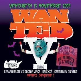 Wanted #5, Nouveau Casino, Soirée, Paris