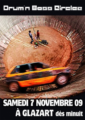 Drum'n' Bass Circlez, Glazart, Soirée, Paris, Clubbing