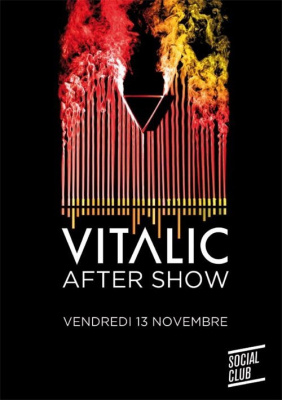 Vitalic, After Show, Flashmob, Social Club, Soirée, Paris