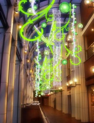 Jardin Imaginaire, Noël, Forum des Halles, Shopping, Paris