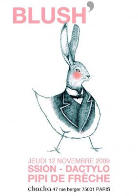 Blush, Flash Cocotte, Chacha, Soirée, Paris