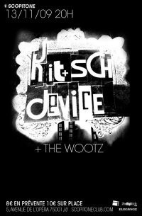 The Wootz, Kitsch Device, Scopitone, Concerts, Paris