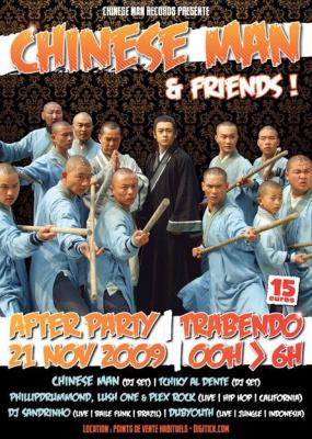 Chinese Man, After Show, Tchiky Al Dente, Trabendo, Soirée, Paris
