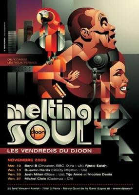 Quentin Harris, Djoon, Soirée, Clubbing, Paris