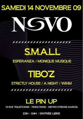 Novo, Small, Tiboz, Pin Up, Soirée, Paris