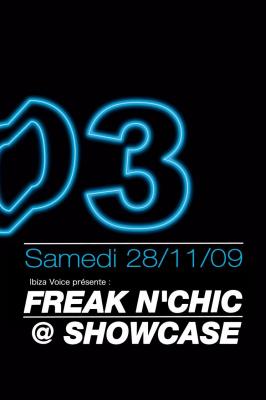 Freak n'Chic, Showcase, Sous le Pont, Soirée, Paris, Clubbing