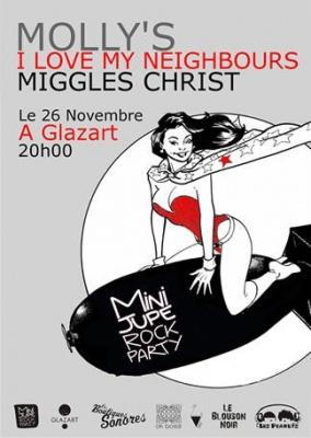 Mini Jupe Rock Party, Concerts, Glazart, Paris