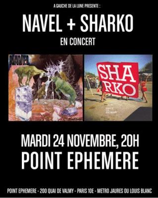 Navel, Sharko, Concerts, Paris, Point Ephémère