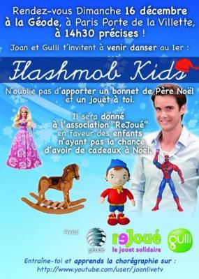 Flashmob Kids pour la bonne cause !