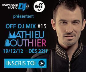 MATHIEU BOUTHIER - OFFDJMix #15