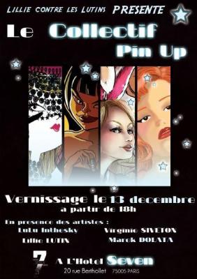 """Vernissage de l'Exposition """"Pin-Up"""""""