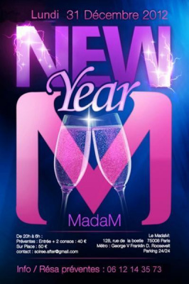 MADAM NEW YEAR 2013