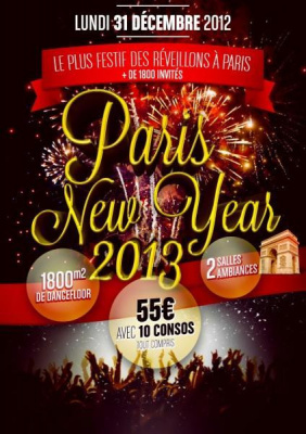 PARIS NEW YEARS EVE 2013