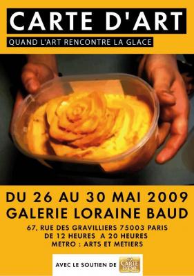 carte d'art, paris, exposition