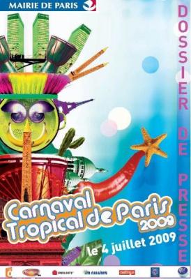 carnaval tropical paris evenement