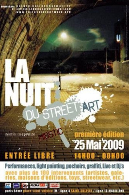 la nuit du street art, paris, expoistion