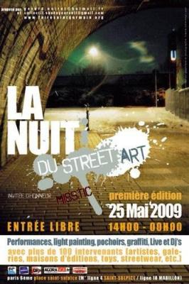 la nuit du street art, paris, expoistion