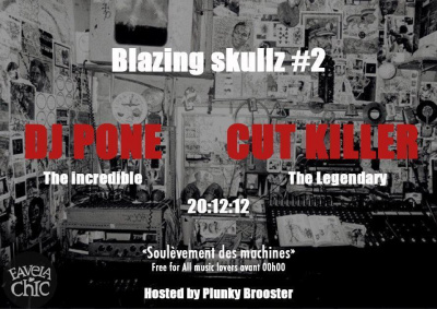 BLAZING SKULLZ #2 Feat DJ PONE & DJ CUT KILLER