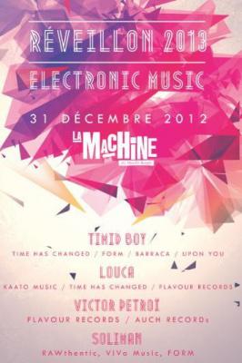 Réveillon 2013 Electronic Music