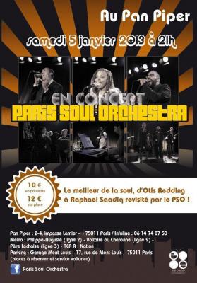 PARIS SOUL ORCHESTRA