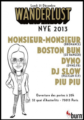 NEW YEAR EVE @ WANDERLUST