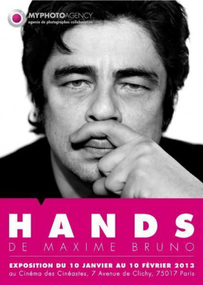 "Exposition ""Hands"" de Maxime Bruno"