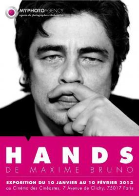 "Exposition ""Hands"" de Maxime Bruno"